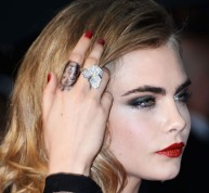 Cara's Lion finger design